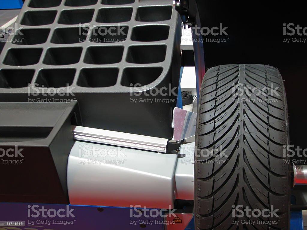 Tire repair royalty-free stock photo