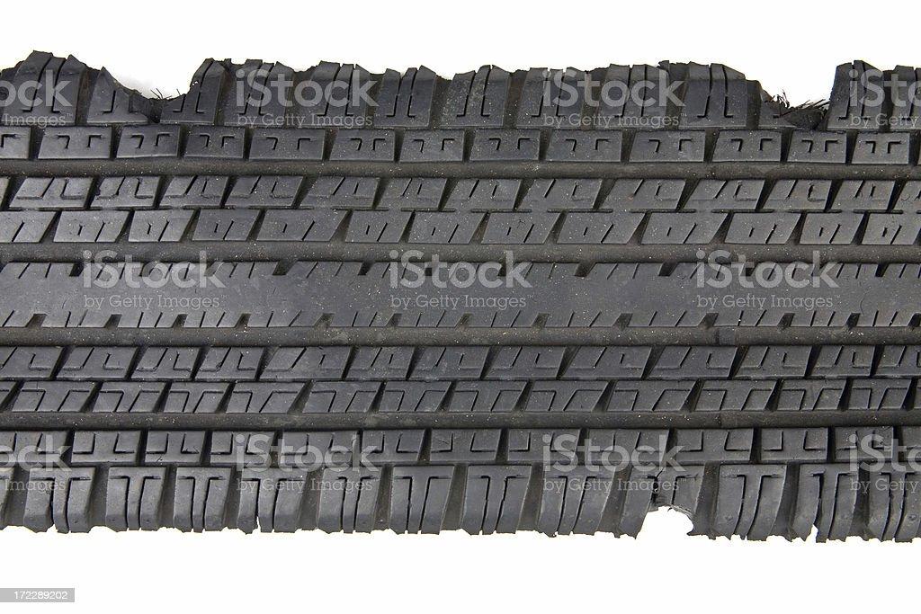 Tire Scrap Design stock photo