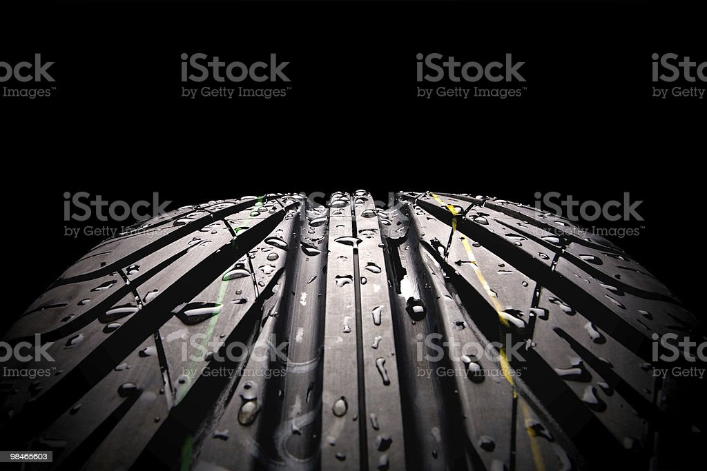 Tire series royalty-free stock photo