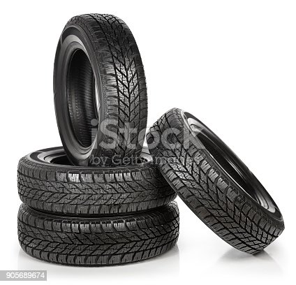 A set of tires.