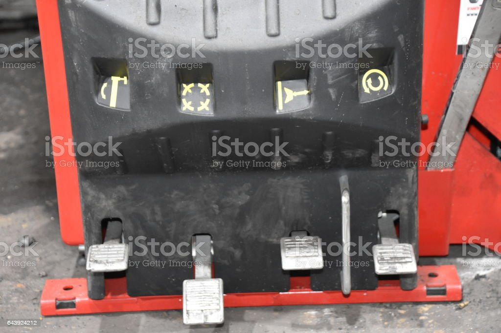 Tire Shop stock photo