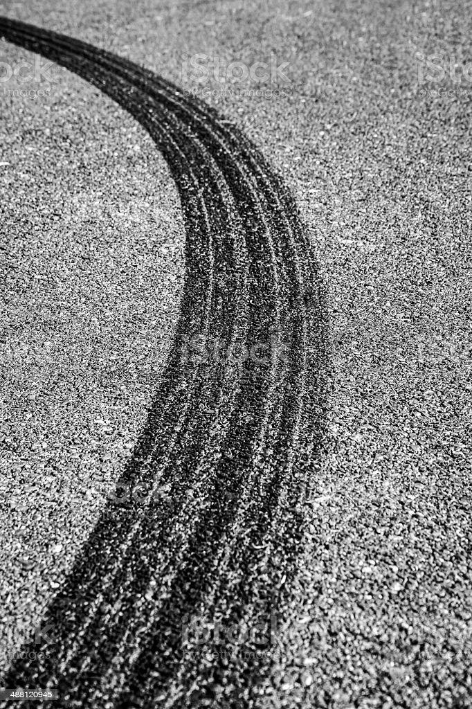 Tire Track – Foto