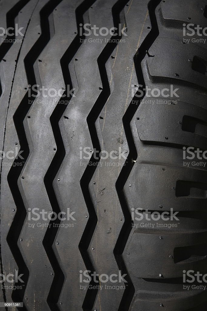 Tire Tread royalty-free stock photo