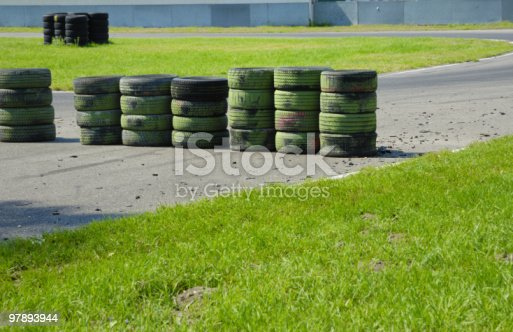 Tire Wall Series Stock Photo & More Pictures of Color Image