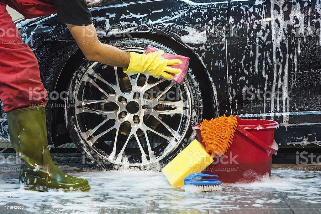 Tire lavado - foto de stock