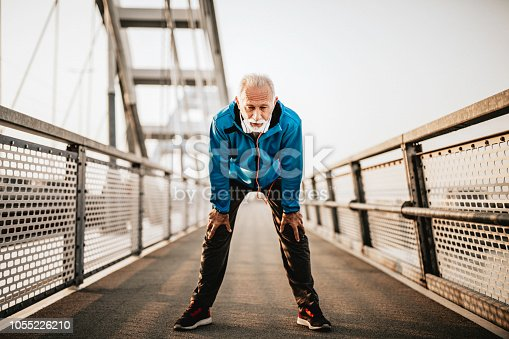 istock Tired after running 1055226210