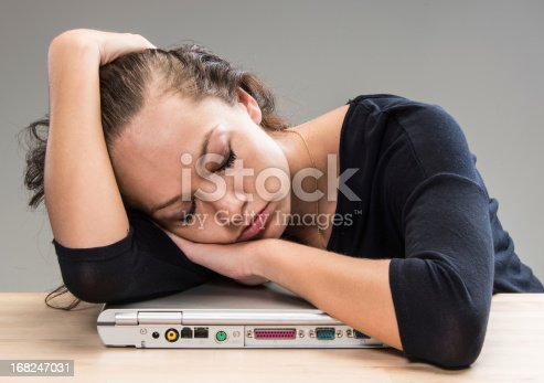 508126619istockphoto Tired and sleeping 168247031