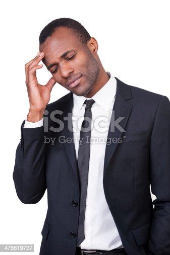 475529255 istock photo Tired businessman. 475519727