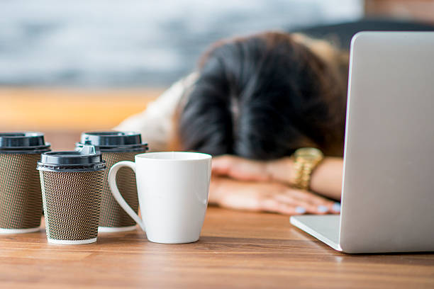 tired entrepreneur - exhaustion stock pictures, royalty-free photos & images
