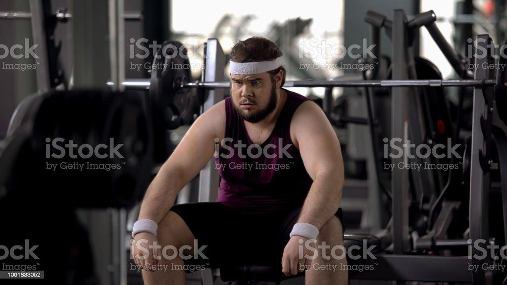 Rutina gym perder peso hombre