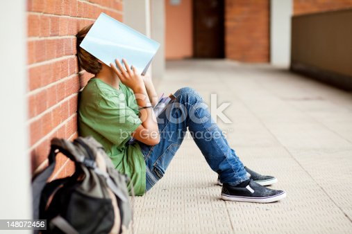 istock tired high school student 148072456