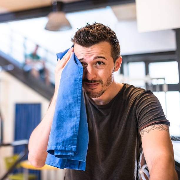 Best Mens Gym Towel: Royalty Free Sweat Towel Men Gym Pictures, Images And