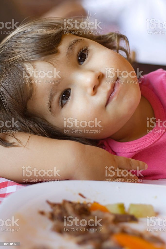 tired of eating royalty-free stock photo