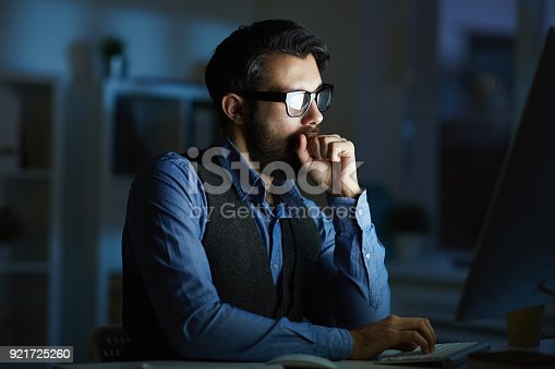 istock Tired of working 921725260
