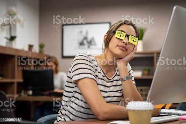 Tired woman covering eyes with post it picture id1059662162?b=1&k=6&m=1059662162&s=612x612&h=bjvj2nrrc1b3e5uwjchnay0rdg88reutbjiiji9oiq0=