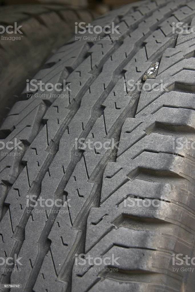 Tires Close Up royalty-free stock photo