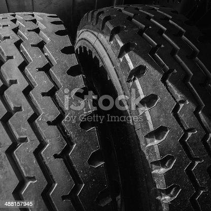 496485590 istock photo Tires 488157945