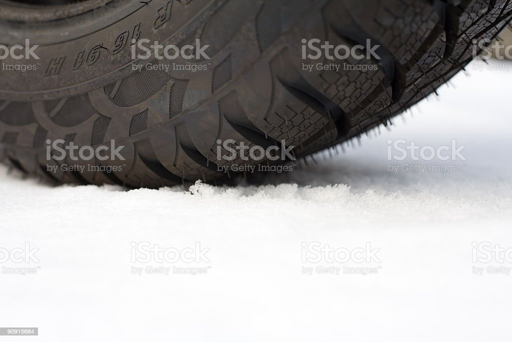 Tires trods royalty-free stock photo