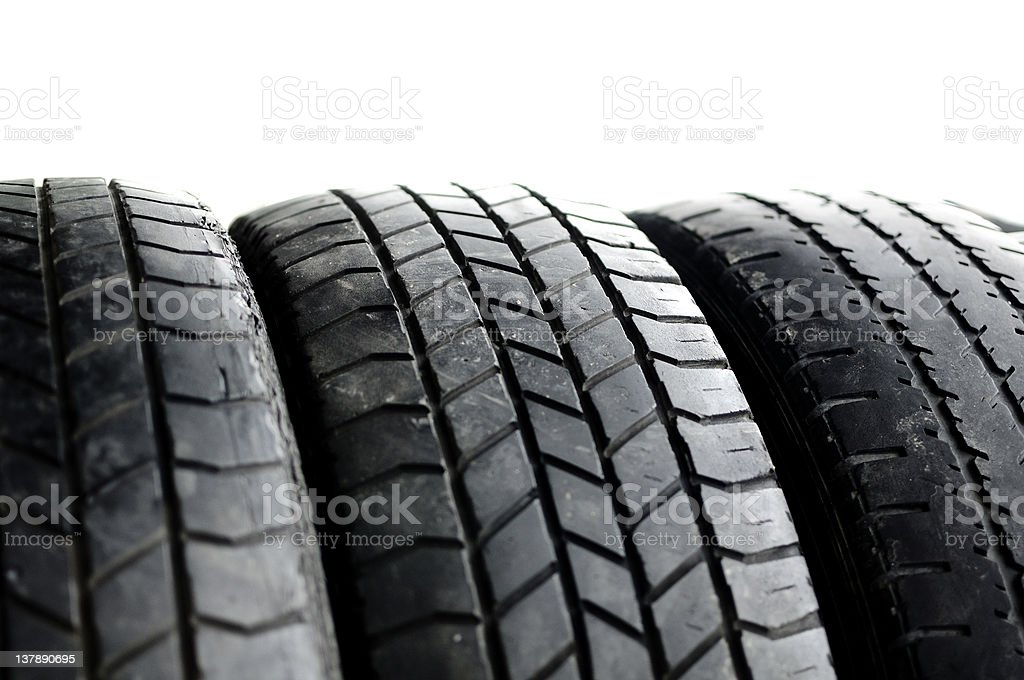 Tires used - Royalty-free 4x4 Stock Photo