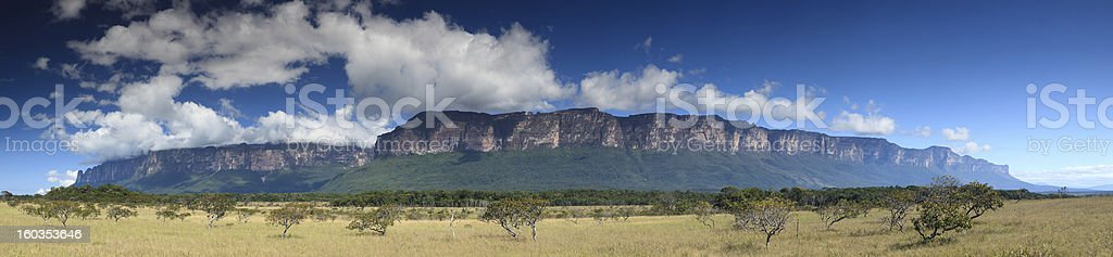 Tirika Valley deep in the Highlands of Guiana, Venezuela royalty-free stock photo