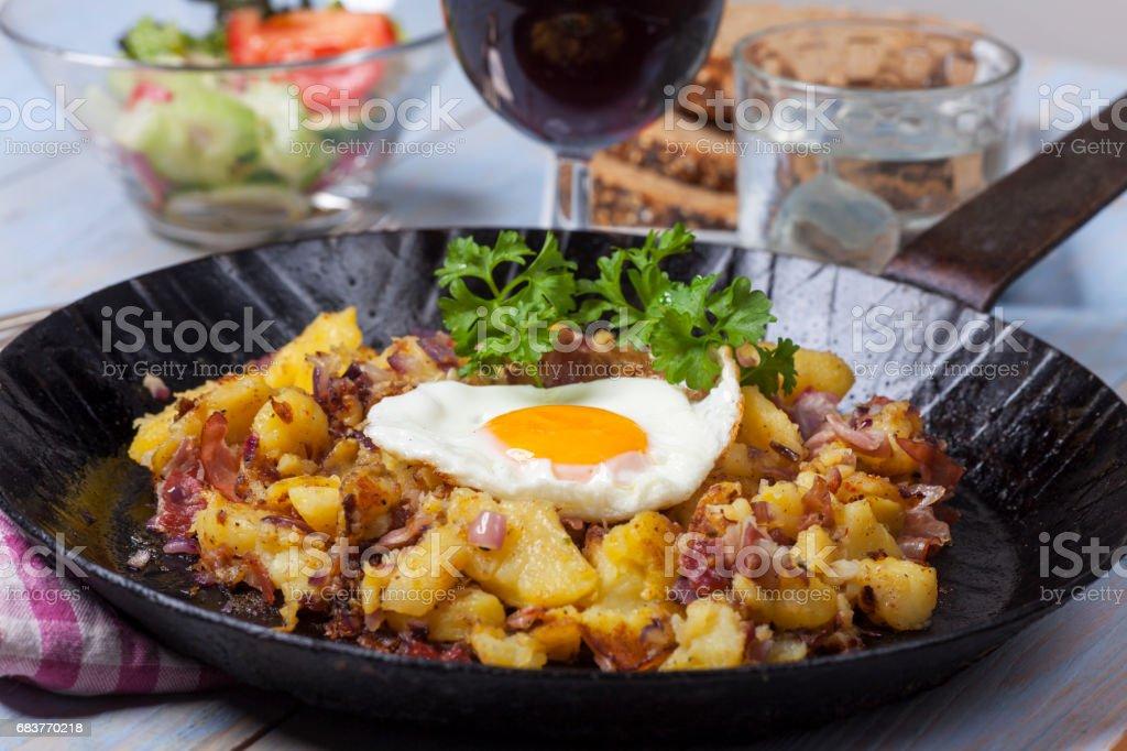 tiroler groestl a potato dish – Foto