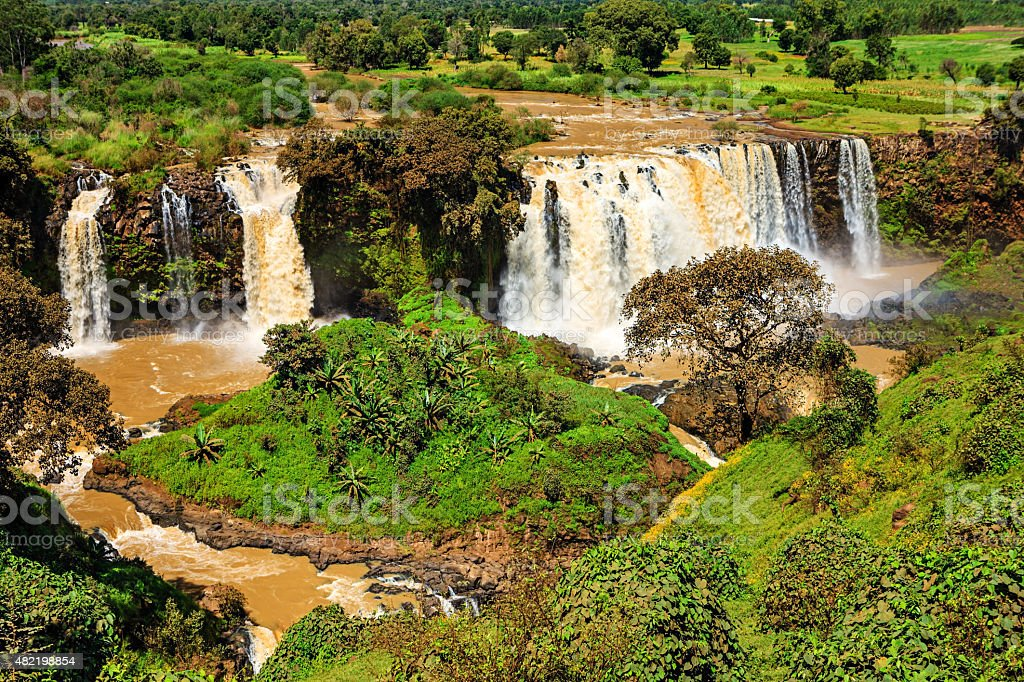 Tis Abay Blue Nile Falls Ethiopia Africa Stock Photo More Pictures