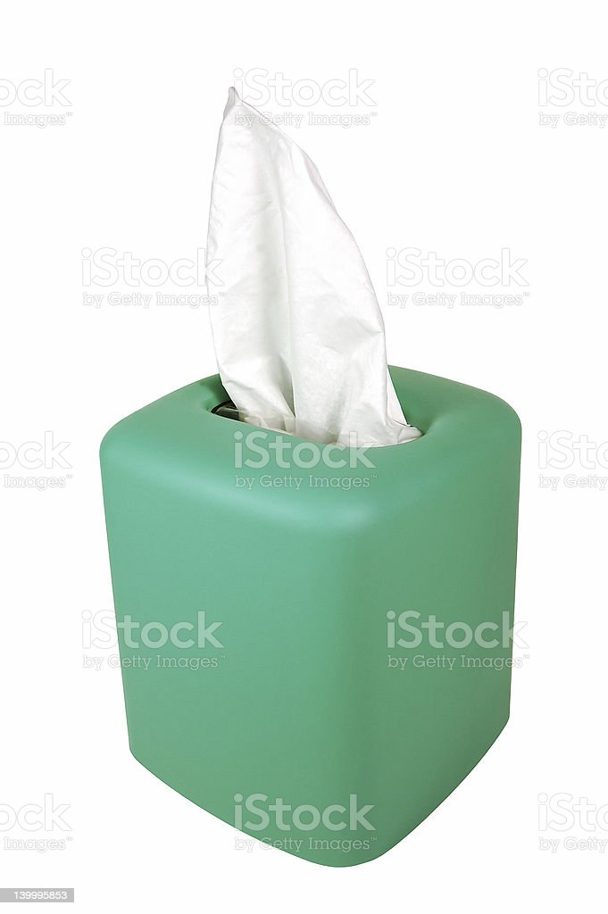 Tissue Dispenser royalty-free stock photo