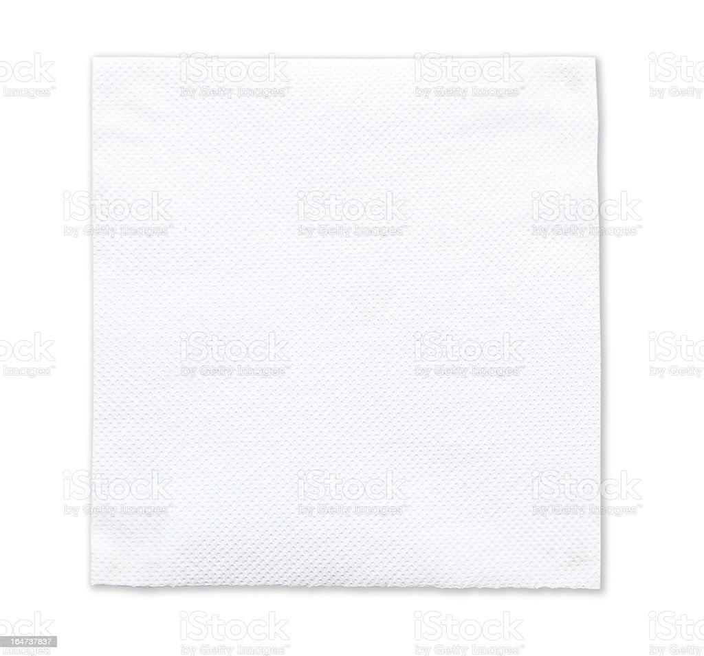 tissue paper on white background royalty-free stock photo