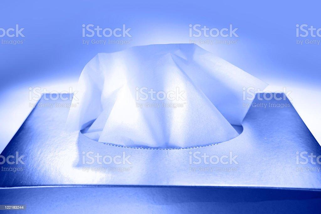 Tissues stock photo