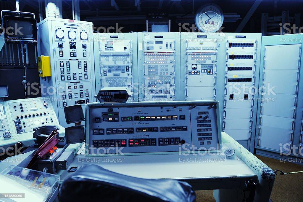 Titan 2  Missile Defense System Control Center In Sahuarita Arizona stock photo