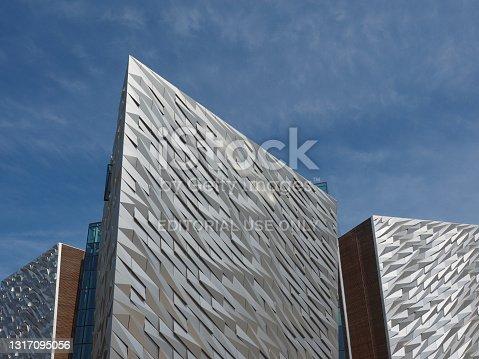 istock Titanic Belfast centre 1317095056