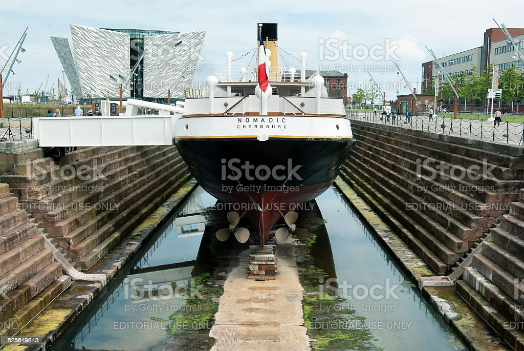 Titanic, Belfast, Irlanda del Norte, Reino Unido - foto de stock