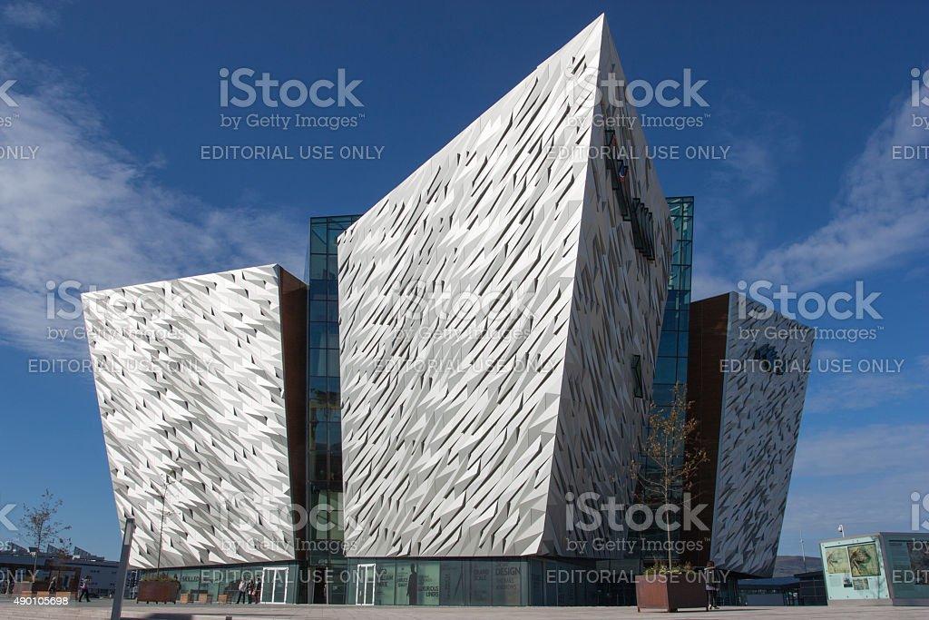 Titanic Belfast stock photo