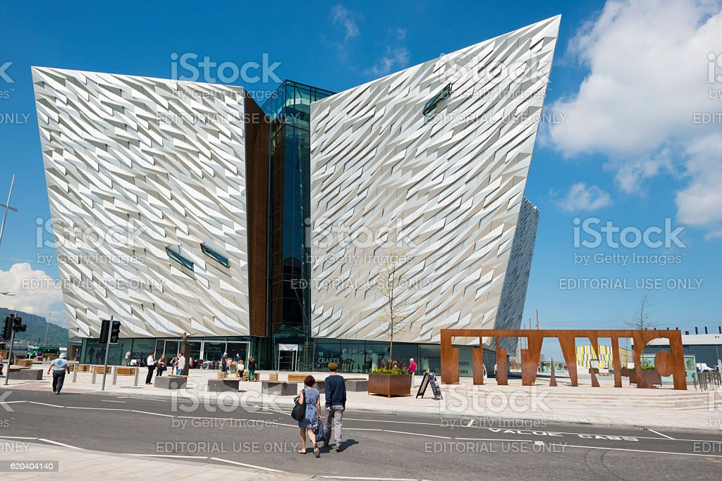 Titanic Museum in Belfast, Northern Ireland - Photo