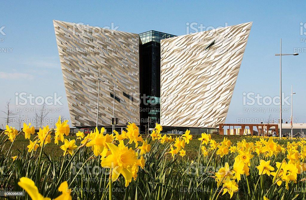 Centre des visiteurs de Belfast Titanic au printemps - Photo