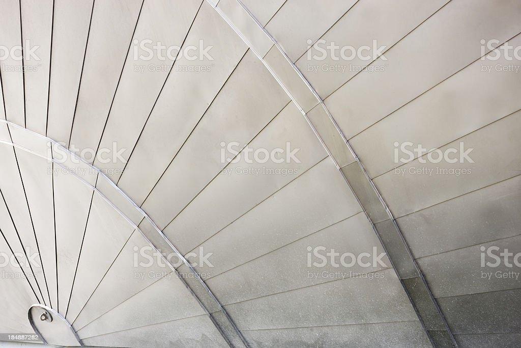 Titanium Clad Building stock photo