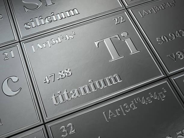 titanium stock photo