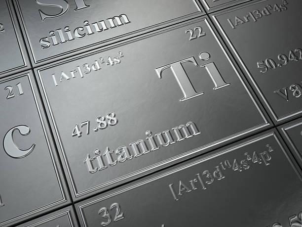 titanium stock photo