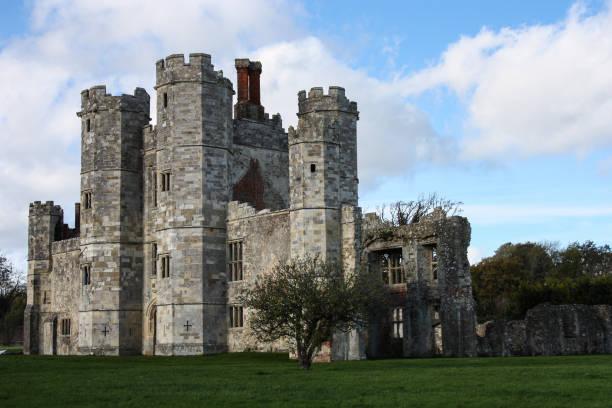 titchfield anoniem - kasteel stockfoto's en -beelden