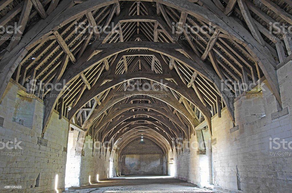 Tithe Barn, Bradford on Avon, UK stock photo