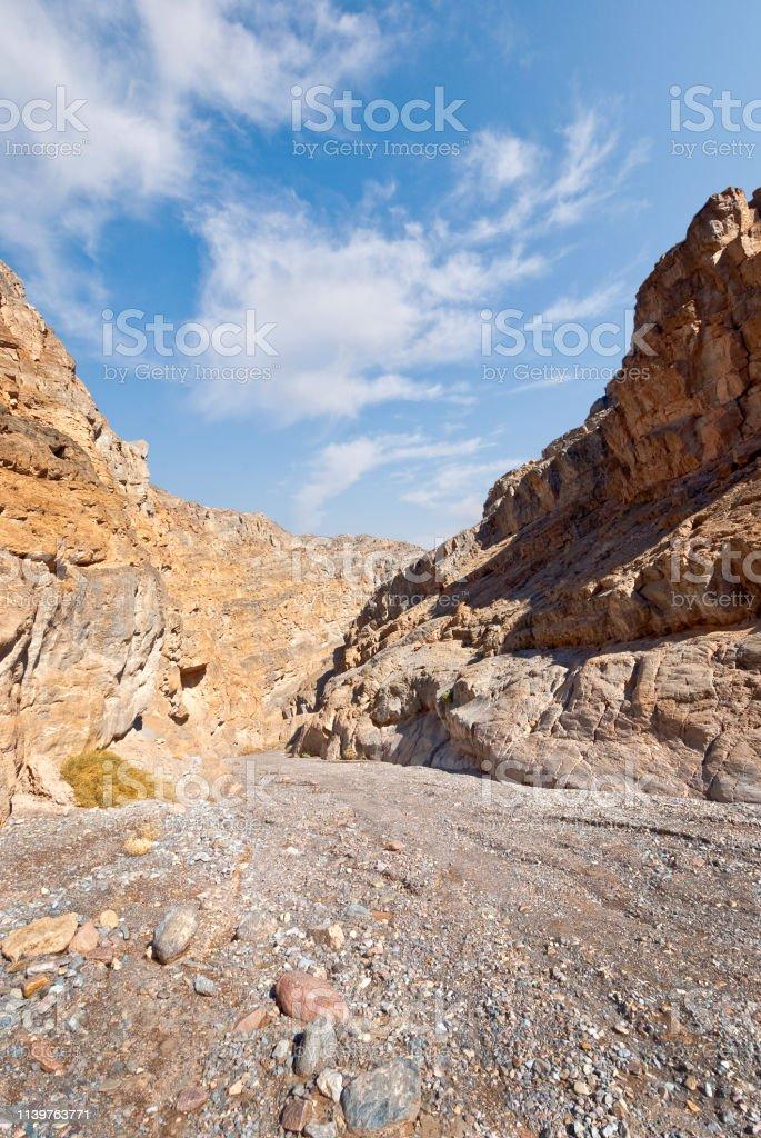 Titus Canyon stock photo