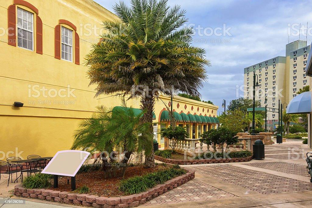 Titusville, Florida stock photo
