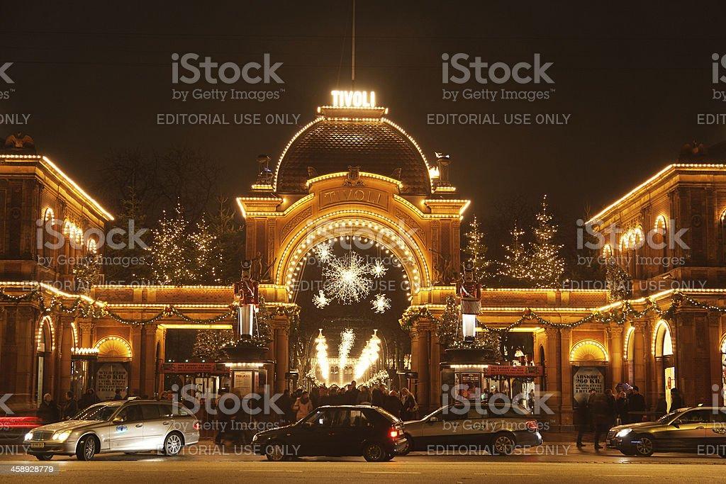 Tivoli royalty-free stock photo