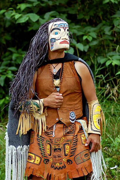 Der tlingit-Indianer – Foto