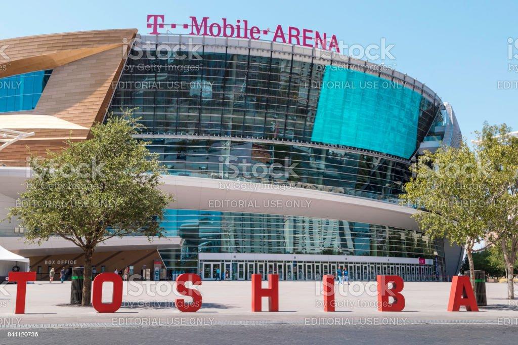 T-Mobile Arena, Las Vegas, Nevada, USA