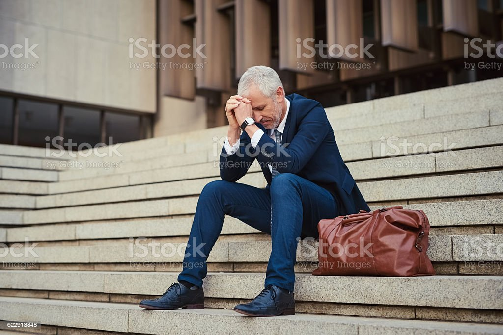 To be successful in business, you need to persevere stock photo