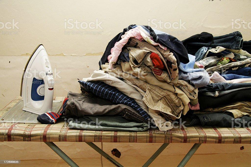 to do: ironing royalty-free stock photo