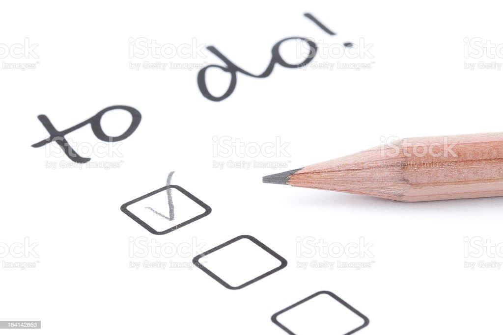 to do list stock photo