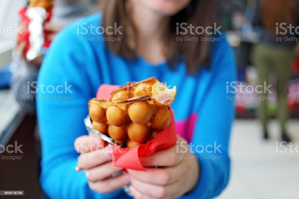 To eat Hong Kong waffles – zdjęcie