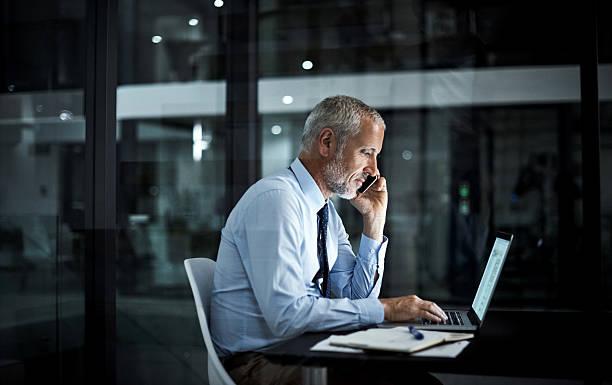 to ensure success, you've got to work for it - ejecutivo fotografías e imágenes de stock